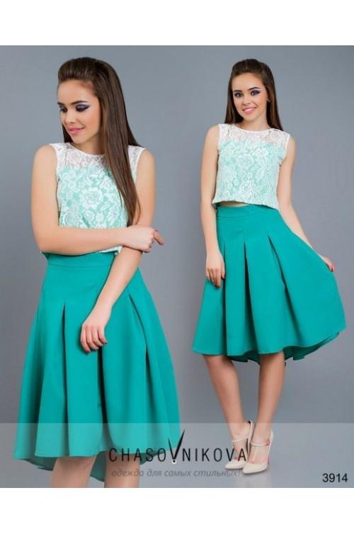 Платье как юбка и топ